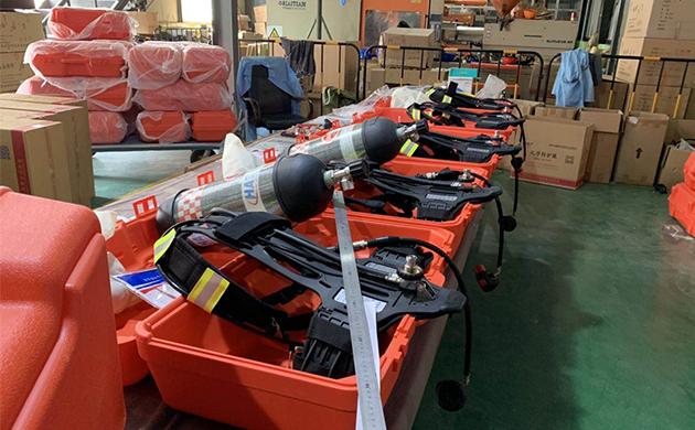 Haiante RHZK positive pressure fire air breathing apparatus9L